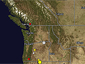Earthquakes Map