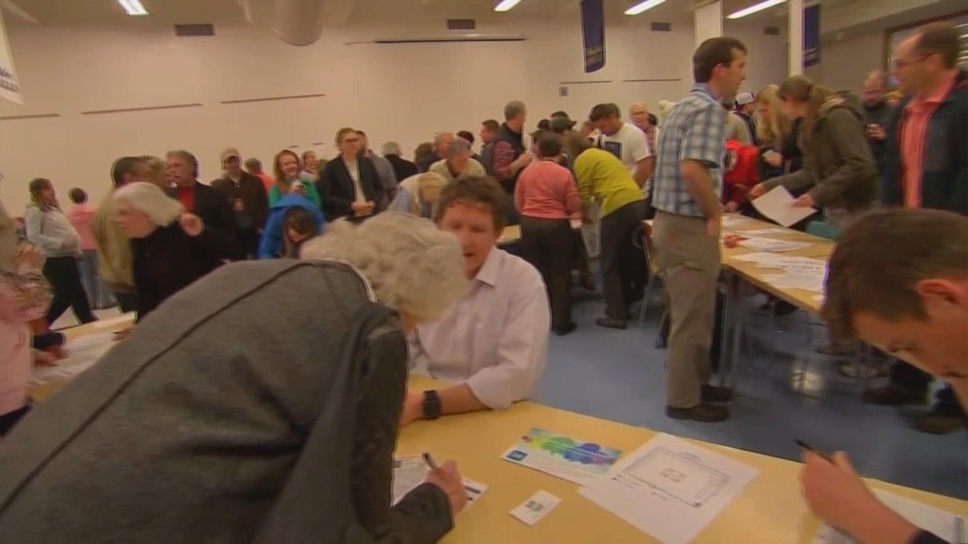 Washington Democrats set to caucus statewide