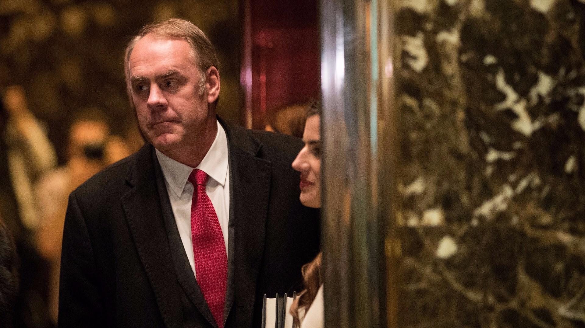 Reports Trump Chooses Montana Rep Zinke For Secretary Of Interior