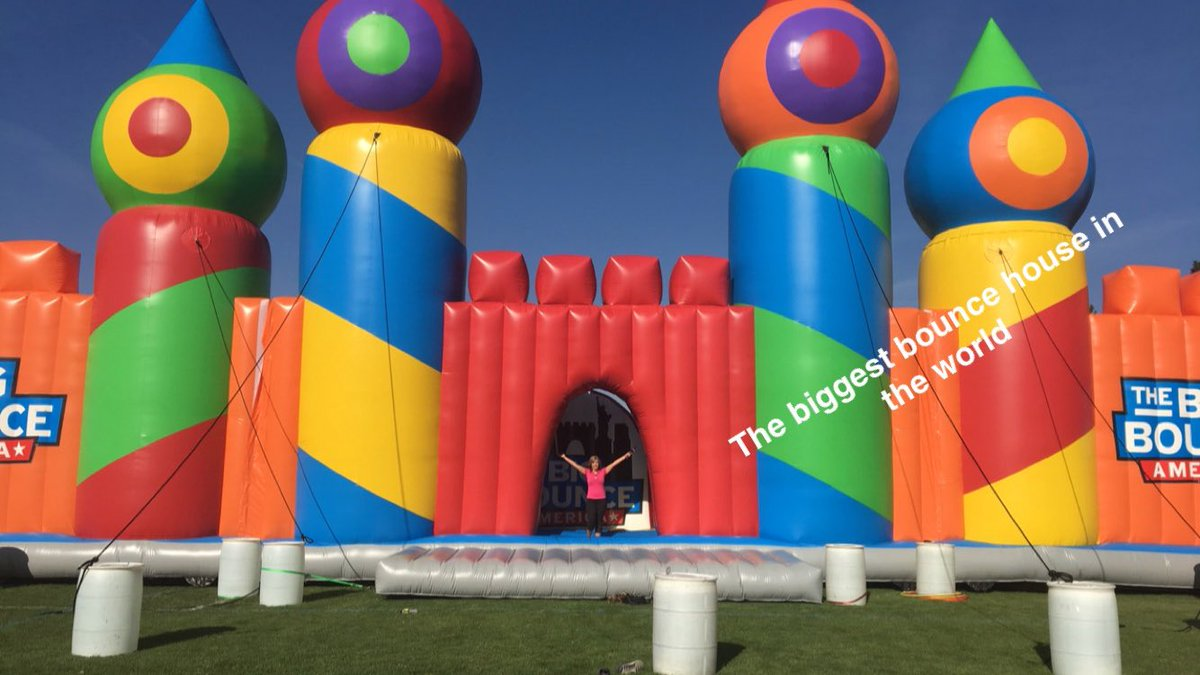worlds biggest bounce house comes to spokane kremcom